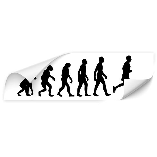 Evolution Motorhauben Aufkleber - Sport