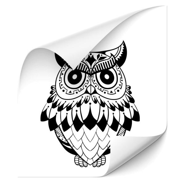 Eulen Autosticker - Adler & weitere Vögel