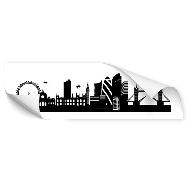London Silhouetten Car Art Aufkleber - Kategorie Shop
