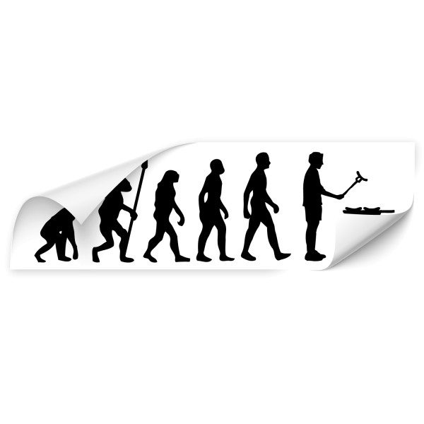 Evolution Car Art Tattoo - people