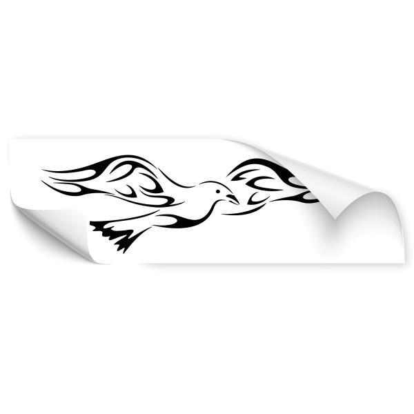 Vogel Tribal Fahrzeug Tattoo - Kategorie Shop