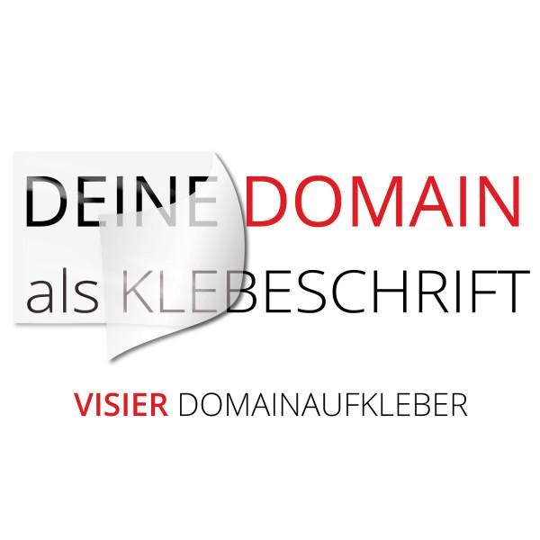 Domainaufkleber Visier - Kategorie Shop
