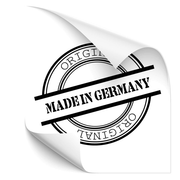 Made in Germany Auto Heck Aufkleber - Kategorie Shop