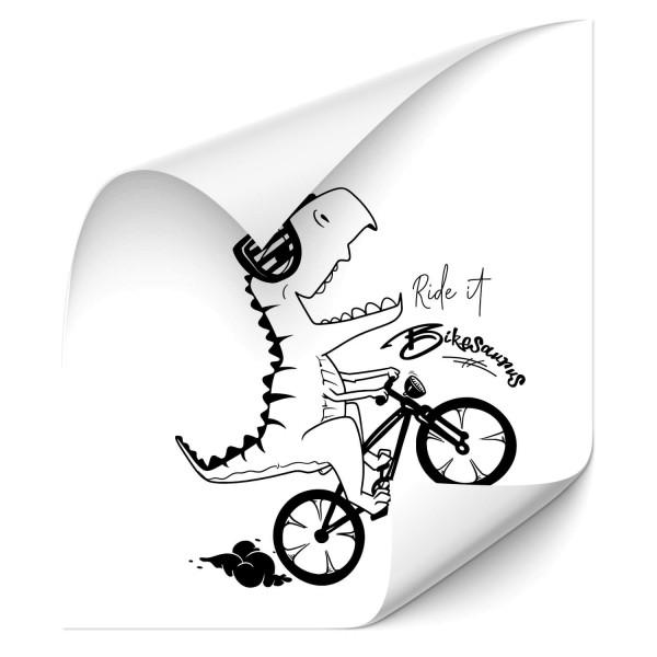Bikesaurus Car Tuning Sticker - Sprüche | Schriftzüge