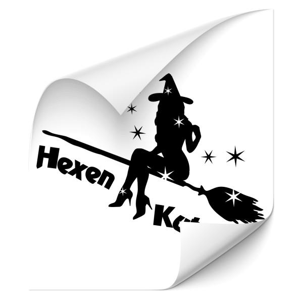 Hexen Kutsche Fahrzeug Aufkleber - märchen & Fabelwesen
