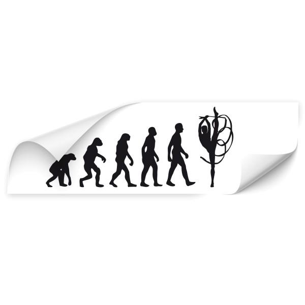 Evolution Heckscheibenaufkleber - Sport