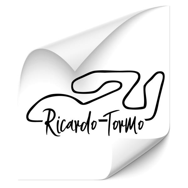 Rennstrecke - Ricardo Tormo Kfz Aufkleber - Kategorie Shop