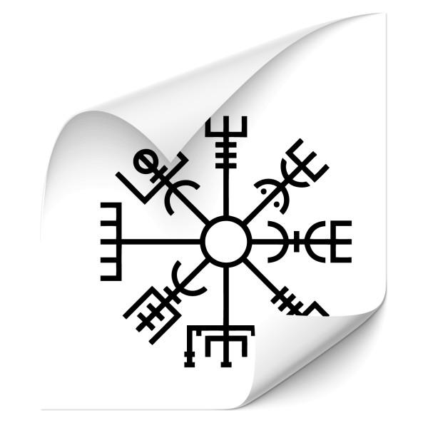 Vegvisir Kfz Sticker - Kategorie Shop