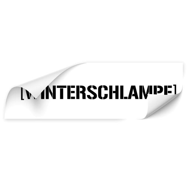 Winterschlampe Fahrzeug Folienaufkleber - Kategorie Shop