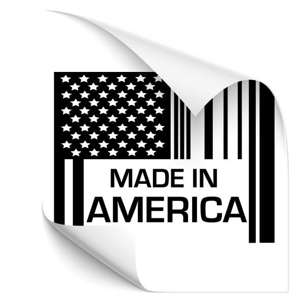 Made in Amerika Car Art Sticker - Kategorie Shop