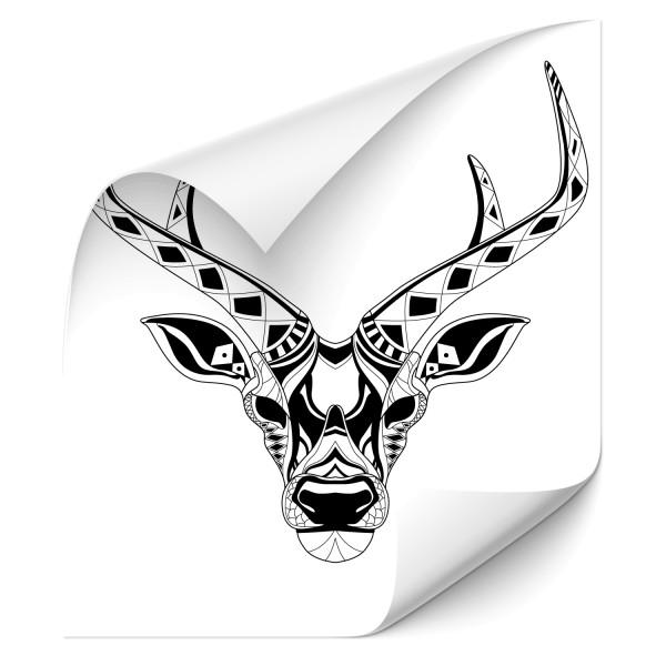Mandala Antilope Autoaufkleber - pferde & co