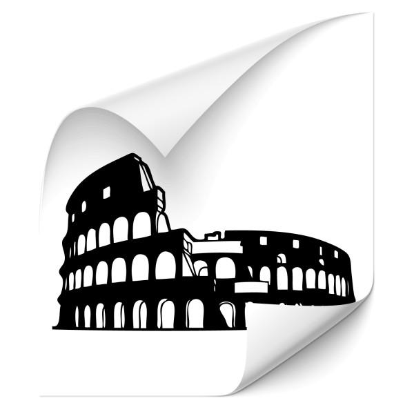 Colloseum von Rom Auto Folienaufkleber - Kategorie Shop