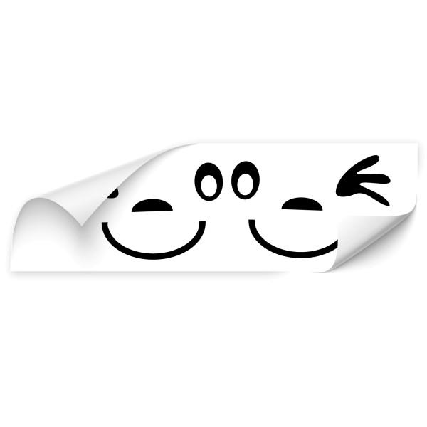 Gesicht Car Tuning Sticker - Kategorie Shop
