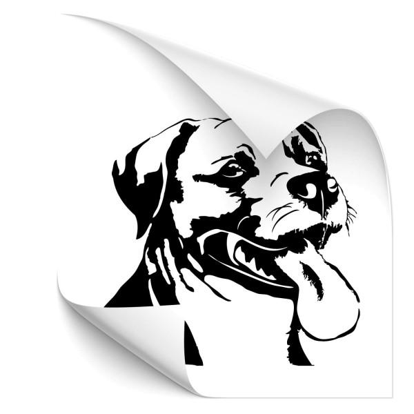 American Staffordshire Terrier Fahrzeug Tattoo - Hunde