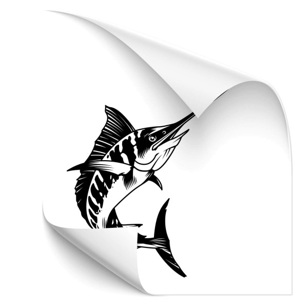 Schwertfisch Autosticker - Tiere