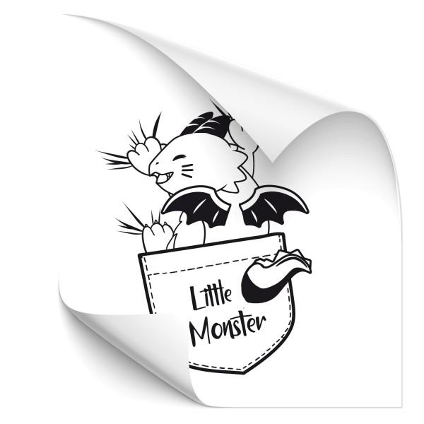 little Monster Autotattoo - märchen & Fabelwesen