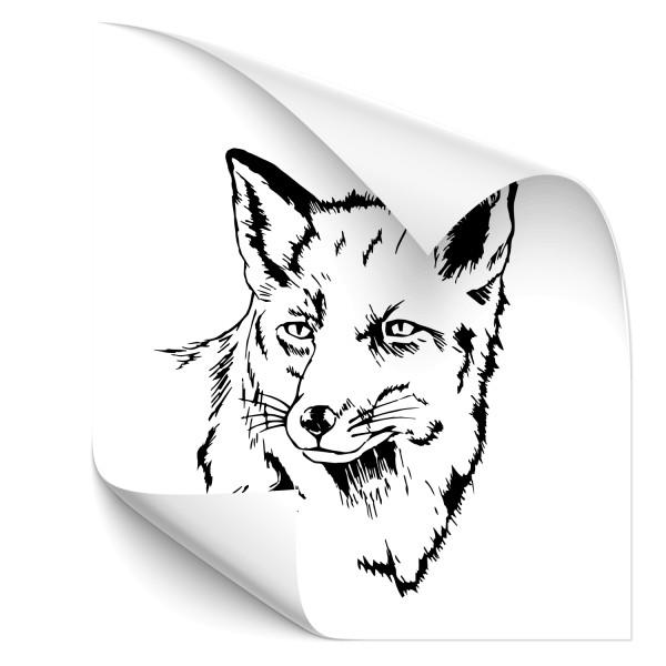 Fuchs Autoaufkleber - Kategorie Shop