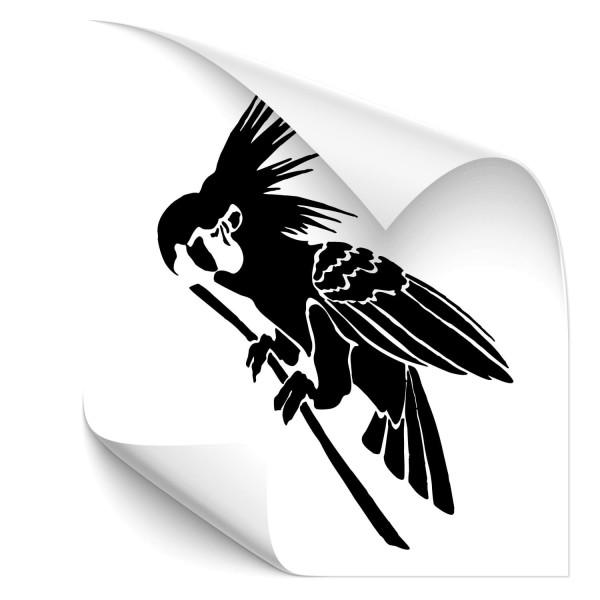 Papagei Fahrzeugsticker - Adler & weitere Vögel