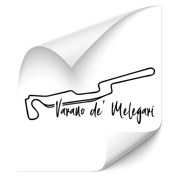 Rennstrecke - Varano de' Melegari Heckscheibenaufkleber - Kategorie Shop