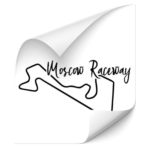 Rennstrecke - Moscow Raceway Fahrzeug Sticker - sport