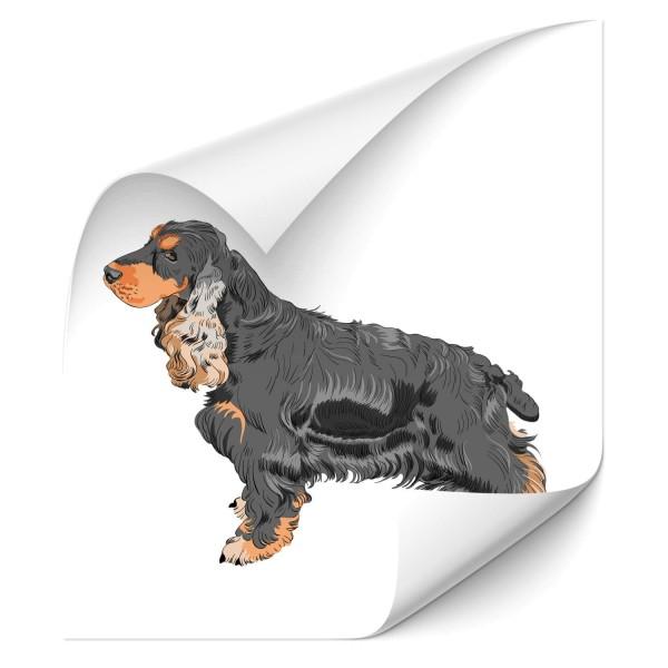 Cocker Spaniel Heck Sticker - Kategorie Shop