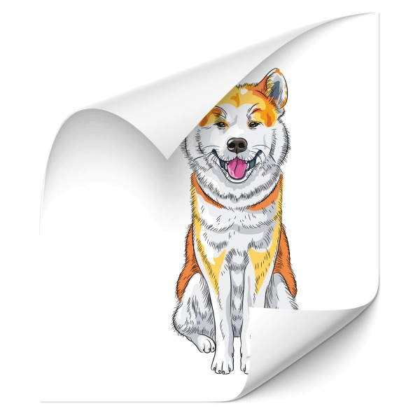Akita Inu Car Tattoo - Kategorie Shop