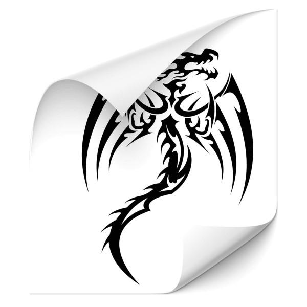 Dragon Tribal Auto Folien Aufkleber - märchen & Fabelwesen