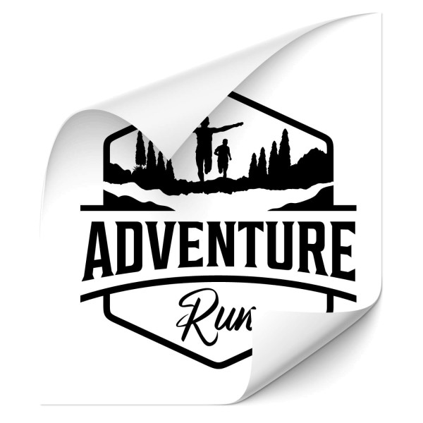 Adventure Run - wandtattoo