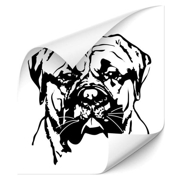 Bullmastiff Auto Aufkleber - Hunde