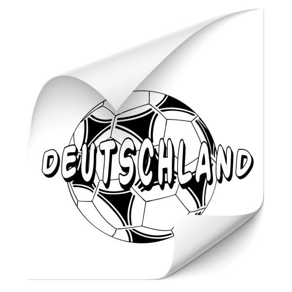 Fußball - Deutschland Autoaufkleber - wandtattoo