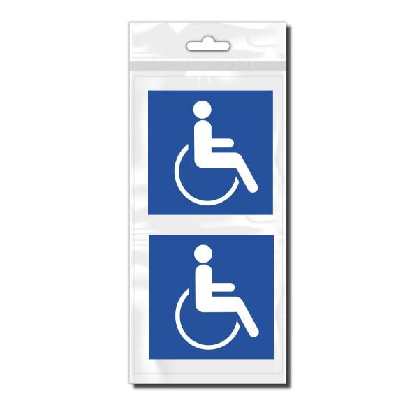 Rollstuhlfahrer Fahrzeugheck Aufkleber - Kategorie Shop