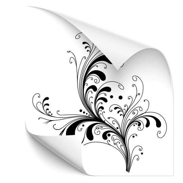 Blumen Ornament Auto Sticker - wandtattoo