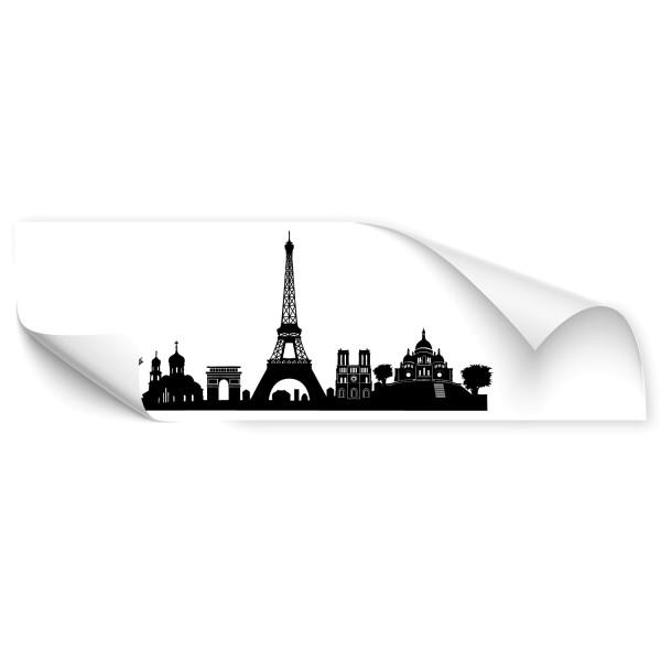 Paris Metropolen Skyline Car Art Sticker - Kategorie Shop