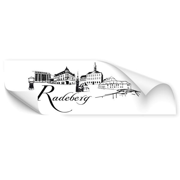 Radeberg Stadt Car Art Sticker - Skyline