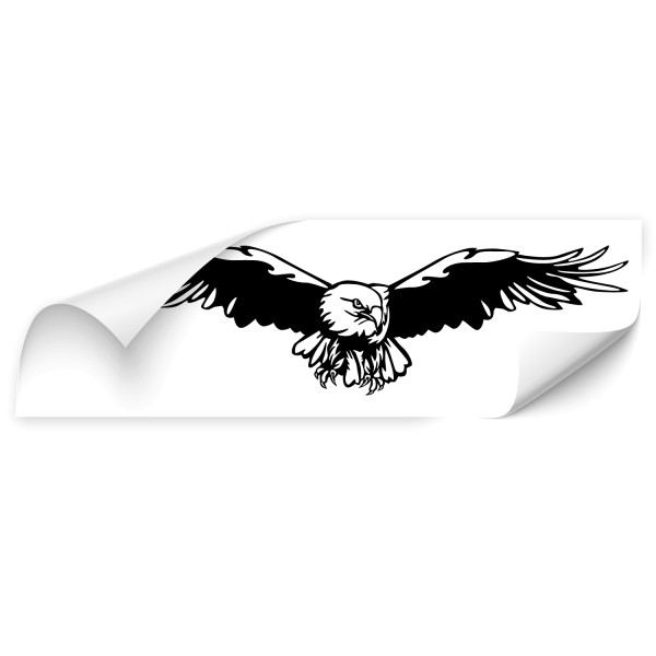 fliegende Adler Car Aufkleber - Kategorie Shop