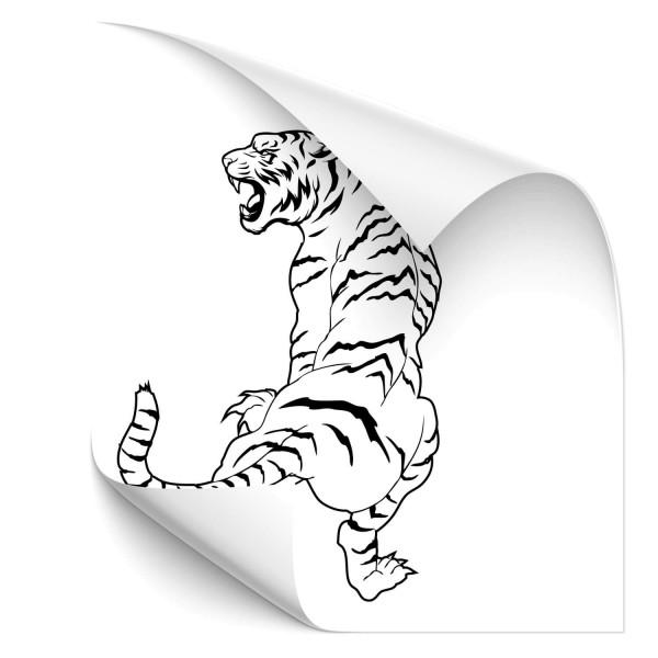 Tiger Auto Folienaufkleber - katzen & Co