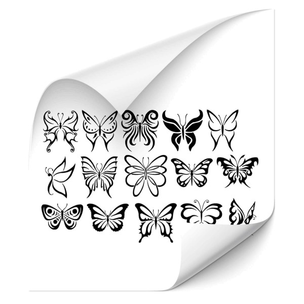 Butterfly Autosticker - Kategorie Shop