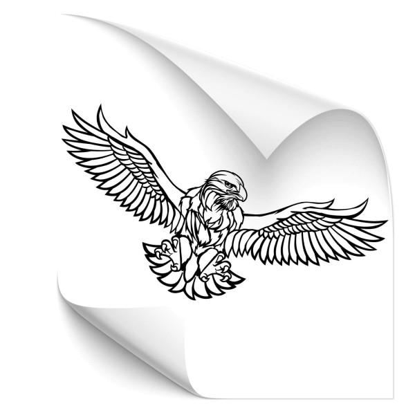 Adler Autoaufkleber - Kategorie Shop