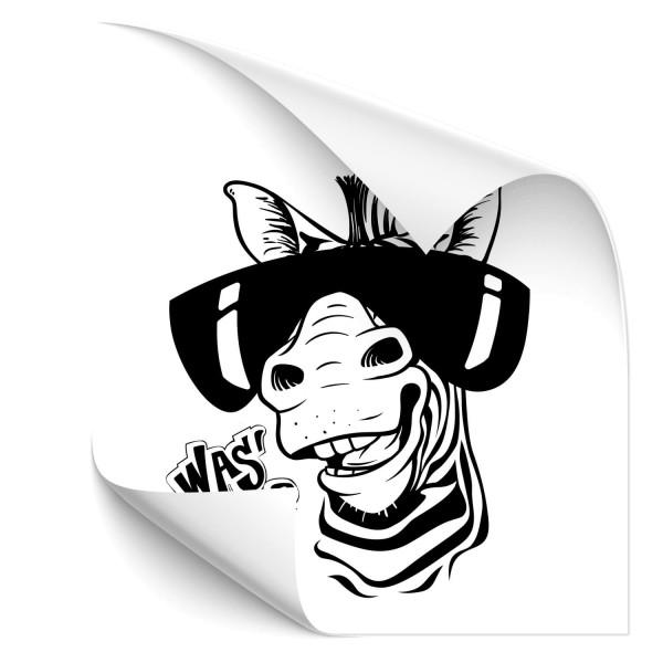 Zebra Kfz Aufkleber - wandtattoo