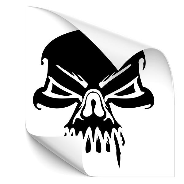 Skull Autoaufkleber - Kategorie Shop