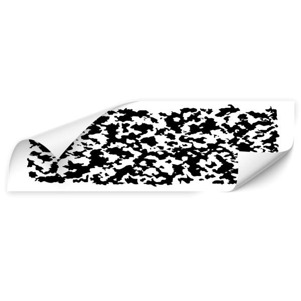 Camouflage Kfz Seiten Sticker - retro
