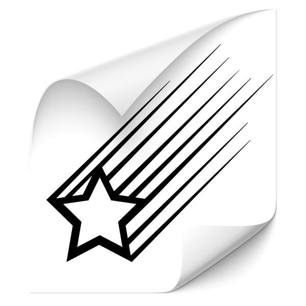 Sternschnuppen Fahrzeugaufkleber - Kategorie Shop