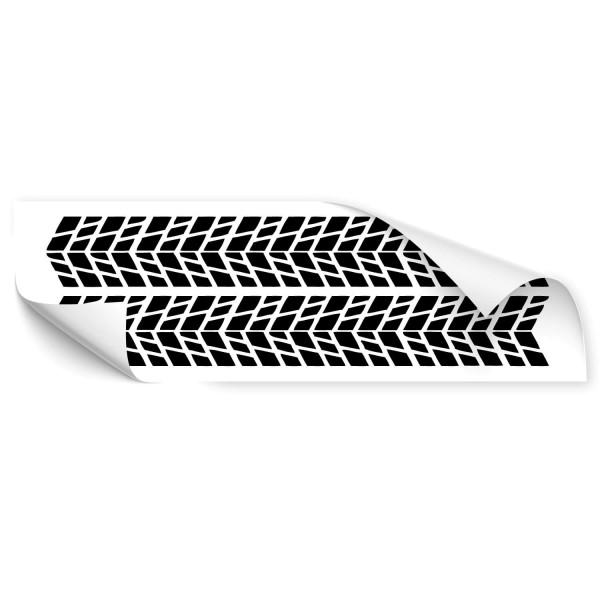 Reifenspuren Kfz Vehikel Sticker - Kategorie Shop