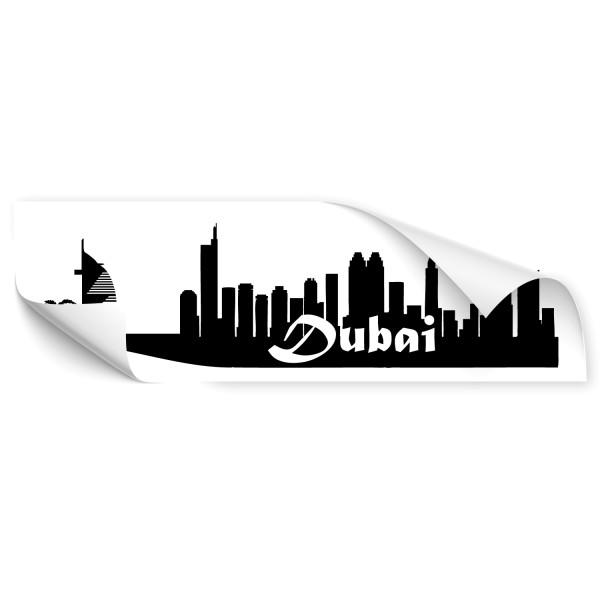 Dubai Skyline Skyline Autoaufkleber - Kategorie Shop