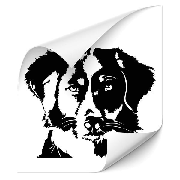 Australian Shepherd Auto Heckscheiben Aufkleber - Hunde