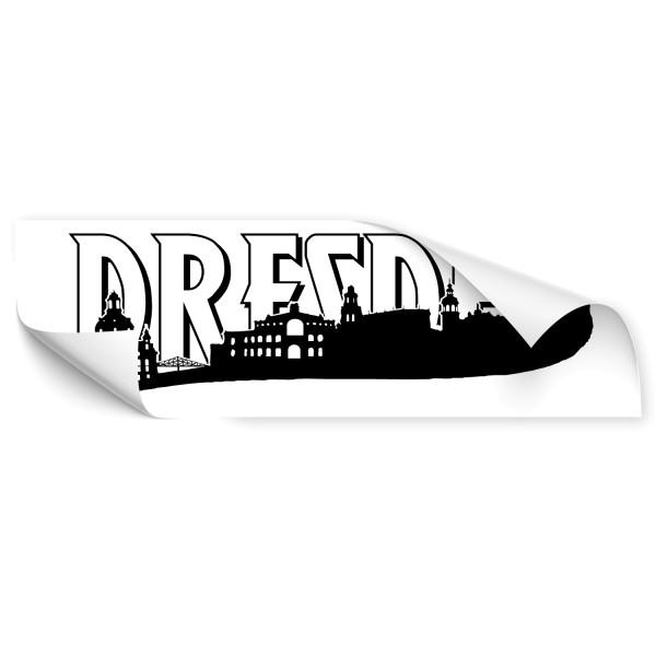 Dresden Silhouetten Autotattoo - Skyline