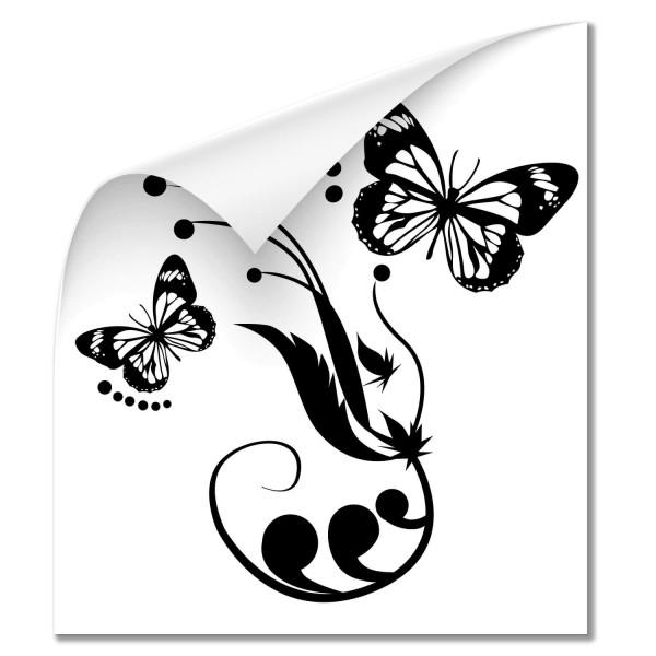 Schmetterlinge mit Ranke Car Tattoo - Kategorie Shop