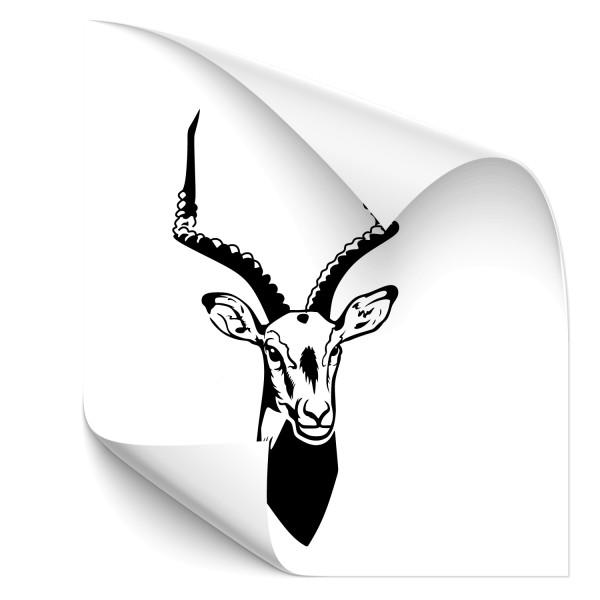 Gazelle Autoaufkleber - Kategorie Shop