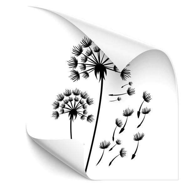 Pusteblume Kfz Aufkleber - Natur