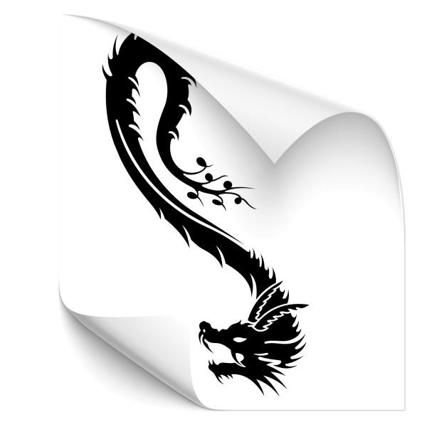Dragon Style Kfz Vehikel Sticker - märchen & Fabelwesen